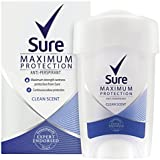 Sure Women Maximum Protection Clean Scent AntiPerspirant Deodorant Cream
