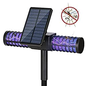lampe solaire anti moustique homecube led uv lampe bug zapper anti moustique tueur lampe anti. Black Bedroom Furniture Sets. Home Design Ideas