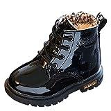 Chaussures pour Filles d'hiver, Moonuy Enfants d'hiver Mode garçons Filles Martin Sneaker Chaussures Neige...