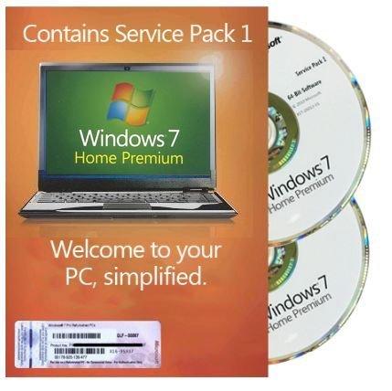 Windows 7 Home Premium 32 & 64Bit Refurbished (Service Pack