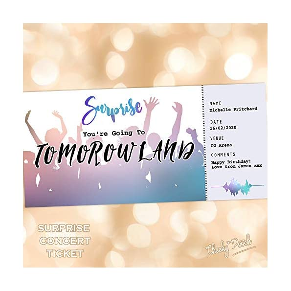 Dance Music Gig Ticket – Concert ticket, Ticket Template, Music, Festival ticket, Surprise Gift
