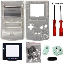 Timorn Sostituzione Case Cover Shell alloggiamento pieno per GBC Gameboy Color