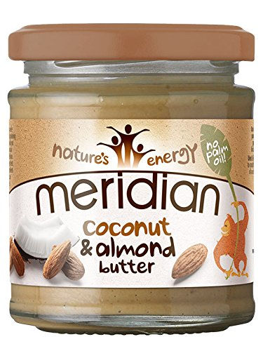 Meridian Natural Almond & Coconut Butter 170 g Smooth