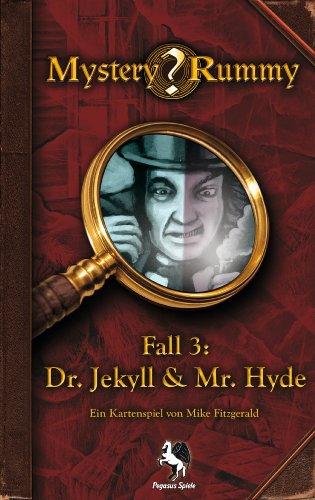 Preisvergleich Produktbild Pegasus Spiele 17852G Mystery Rummy: Jekyll & Hyde