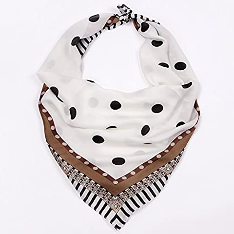 BEEST-Ms. summer multifunctional small towel scarf scarf scarf 70*70cm printing all-match small occupation,Wave