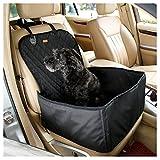 JMM asiento auto Funda de asiento de coche perro/gato cesta Animal para coche seguridad, funda para Auto animales antideslizante impermeable