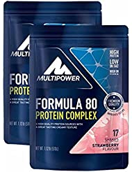 Multipower Muscle Protein Formula 80 Evolution ( 2 x 510g = 1020g), Vanille
