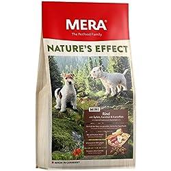 MERA Mini, Getreidefreies Hundefutter, Premium Trockenfutter für kleine Hunde mit Rind, Äpfeln, Karotten und Kartoffeln
