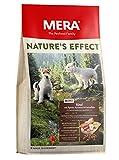 MERA NATURE'S EFFECT Mini, Getreidefreies Hundefutter, Premium Trockenfutter für kleine Hunde mit Rind, Äpfeln, Karotten und Kartoffeln