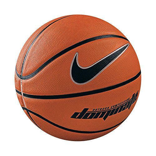 Nike Dominate Basketball, amber/black, 7 - Basketball-spiel Ball