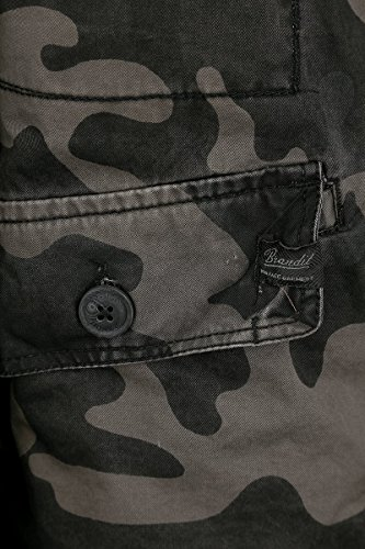 Brandit Herren Jacke Britannia Mehrfarbig (Darkcamo 4)