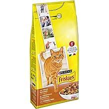 Friskies Adult pienso para el Gato, con Pollo, Pavo y Aceitunas aggiunte, 2