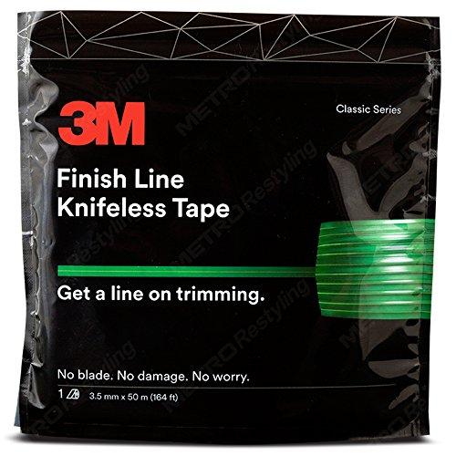 Knifeless Finish Line Vinyl Wrap Schneiden Klebeband 50meter Rolle (164ft) für Streifen und mehr -