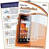 2 x mumbi Displayschutzfolie Samsung Galaxy Xcover S5690 Displayschutz AntiReflex antireflektierend