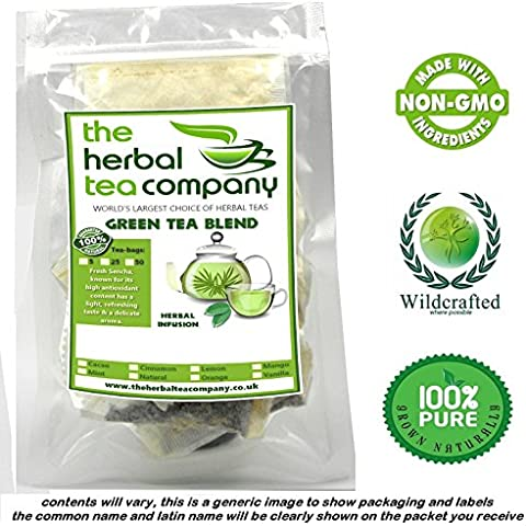 Angelica Leaf Tea Bags Green Tea Blend With A Hint Of Mango 25 Pack