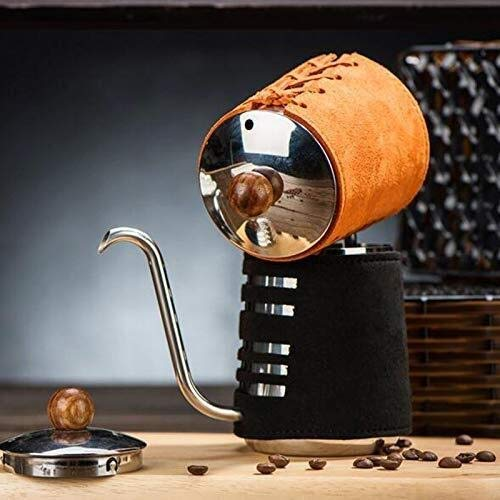 QIANG-w Sésiles café mano olla acero inoxidable