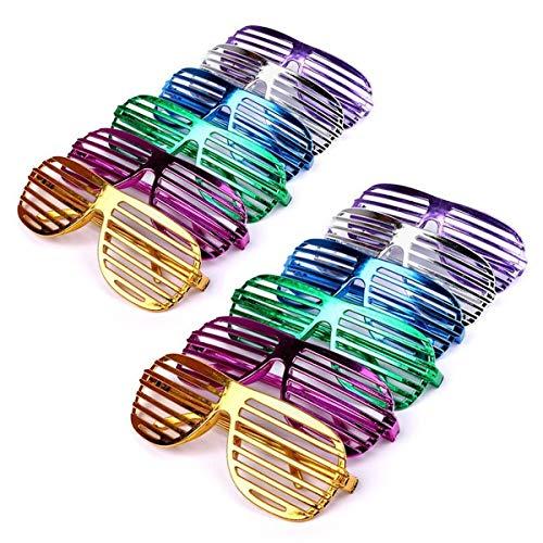 Schramm® 24 Piezas Vasos Fiesta metálicos 6 Colores