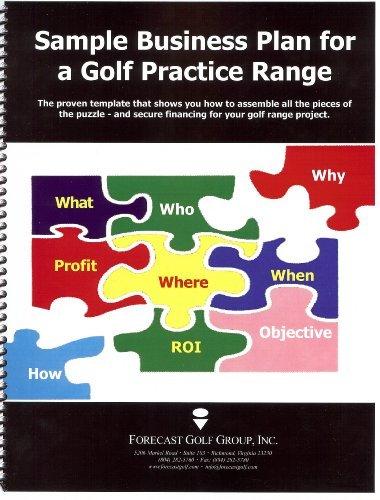 Sample Business Plan For a Golf Practice Range by James E. Turner (2007-07-01) par James E. Turner