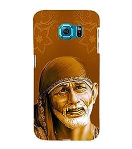 Om Sai Ram 3D Hard Polycarbonate Designer Back Case Cover for Samsung Galaxy S6 :: Samsung Galaxy S6 G920