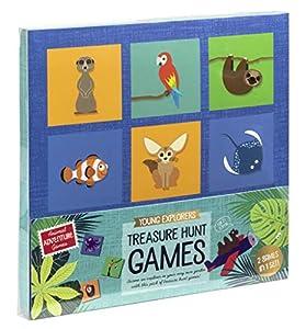 Professor Puzzle Treasure Hunt Bingo Juego de jardín
