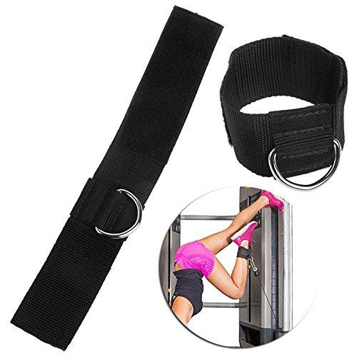 Binglinghua® D-Ring Ankle Strap Gym Gewicht Kabel Multi Befestigung Oberschenkel Bein Pulley Lifting