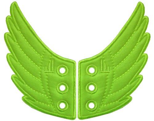 Boxer-Gifts-Neon-Lace-Alas-de-tela-decorativas-para-zapatillas-de-cordones-color-verde