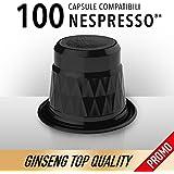 Café al ginseng–100Cápsulas de ginseng Nespresso® *–King Cup Ginseng Coffee