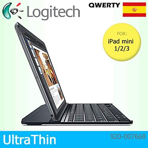 Logitech QWERTY - Funda Cierre magnético Apple iPad