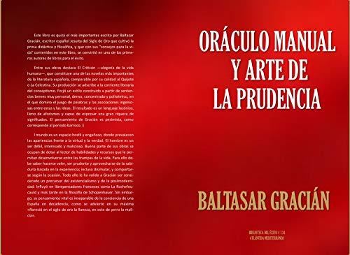 Oráculo manual y  Arte de la prudencia (Biblioteca del Éxito nº 134) por BALTASAR GRACIAN