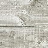 Klebefolie PERFECT FIX® BRETTER TAUPE Dekofolie Möbelfolie Tapeten selbstklebende Folie, PVC, Natur-Holzoptik beige, 67,5cm x 2m, 150µm (Stärke: 0,15 mm), Venilia 53355
