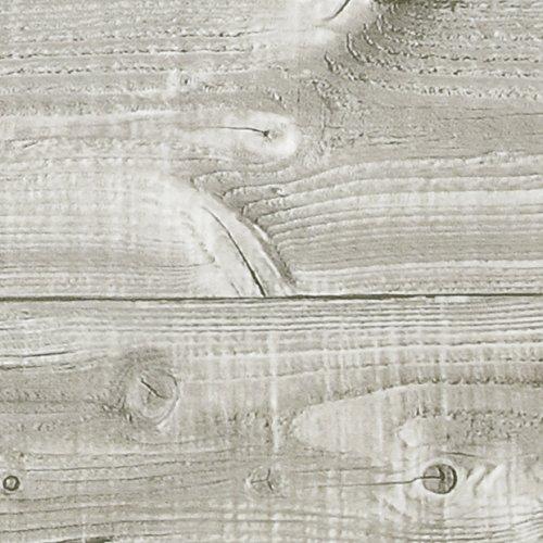 Klebefolie PERFECT FIX® BRETTER TAUPE Dekofolie Möbelfolie Tapeten selbstklebende Folie, PVC, ohne Phthalate, keine Luftblasen, Natur-Holzoptik beige, 45cm x 2m, 150µm (Stärke: 0,15 mm), Venilia 53340