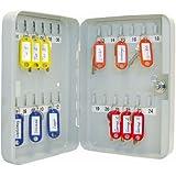 Wedo 10252437X - Armario para llaves, 18 x 6 x 25 cm , gris luminoso