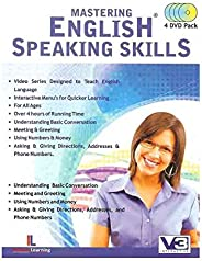 Intence Learning Mastering English Speaking Skills, Pack of 4 DVDs