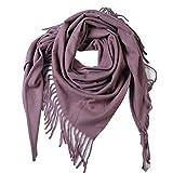 Couverture d'hiver éCharpe Femme Chaude Tartan Doux éPais Grand ChâLe Wrap Oversize - pour Le Cadeau d'anniversaire,I