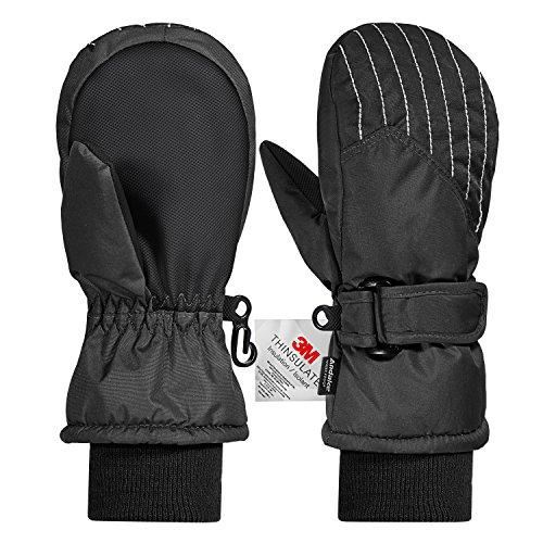 3M Thinsulate Extrem Warm Fäustlinge Winddicht Wasserfest Atmungsaktiv Thermo Handschuhe Winterhandschuhe kinderhandschuhe Skihandschuhe...