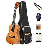 Ukelele soprano y concierto de la marca UBETA US&UC, de madera de caoba, para...