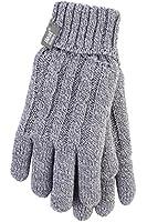 1 Paar Damen echte Wärme Inhaber Heatweaver thermische Handschuhe TOG 2.3 Hellgrau S/M