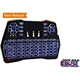 Biksi B8 [ Sale Offer] New 2018 Multipurpose 5 In 1 Advance Gaming Air Back Lit Wireless Keyboard And Mouse Combo With Multi Touch Screen And 3/3 Gyro Plus G Sensor