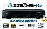 Zgemma H5 è un decoder Zgemmastar-H5 Combo HD per la Tv SAT e Digitale...