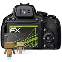 atFoliX Screen Protection for Fujifilm FinePix HS50EXR Mirror Screen Protection - FX-Mirror Protector Film with mirror effect