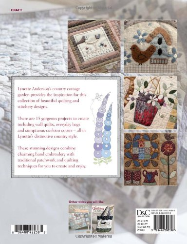 Country Cottage Quilting: Over 20 Quirky Quilt Projects Combining Stitchery with Patchwork