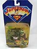 Kenner - Superman, La serie animata - Metallo con l'inarrestabile Hovercraft d'assalto! - Action Figure