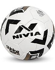 Nivia Shining Star-2022 Football, Size 5 (White)