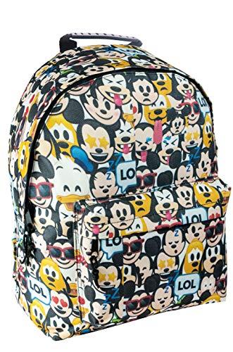 Diakakis 561992Rucksack Emoji-2Fällen, Multicolor, 30x 40x 15cm