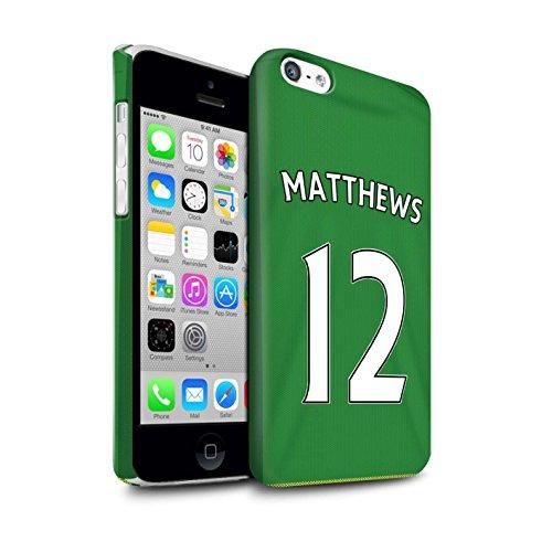 Officiel Sunderland AFC Coque / Clipser Matte Etui pour Apple iPhone 5C / Pack 24pcs Design / SAFC Maillot Extérieur 15/16 Collection Matthews