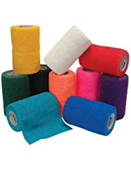 3M Vetrap Bandaging Tape Lightweight Non-Absorbent Comfortable Rolls 4in Teal