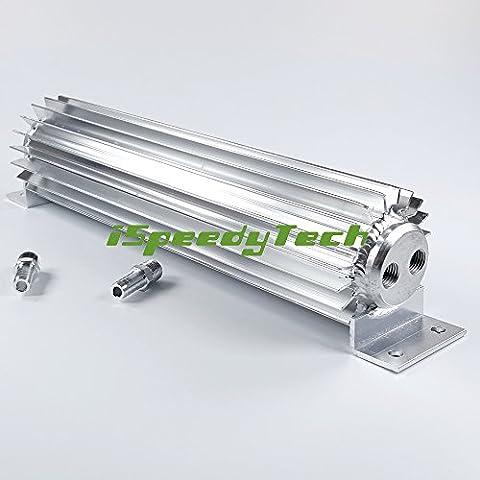 Dual Pass in alluminio dissipatore di calore Raffreddamento Auto Trasmissione Olio Coolers multa lega trasmissione Coolers Dual Pass 18