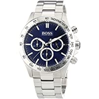 Hugo Boss 1512963 Men's Ikon Blue Dial Quartz Chronograph Watch