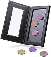 VALUE MAKERS® Profesional paleta de maquillaje magnético para la sombra de ojos Blusher Fundación en polvo - Vacío (Negro)