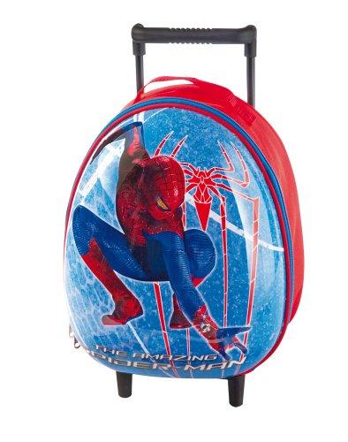 Giochi preziosi mini trolley rigido con colori spiderman uomo ragno